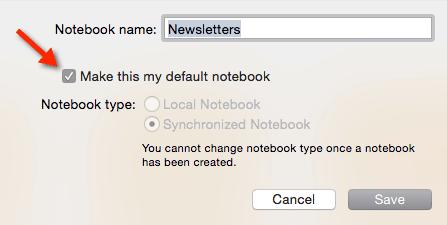 Evernote Notebook