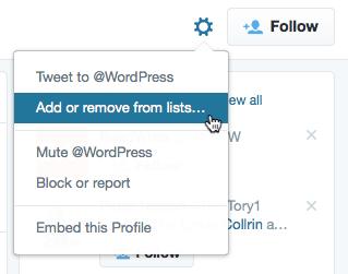 Adding A User To A Twitter List