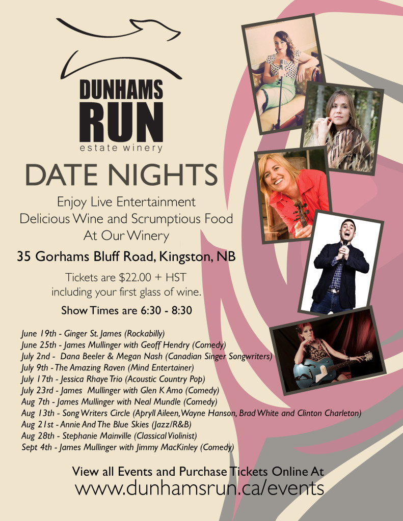 Dunhams Run Date Nights Poster