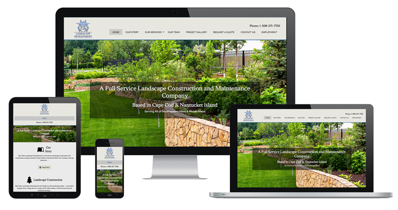 Image of Website Sample by The Pridham Group