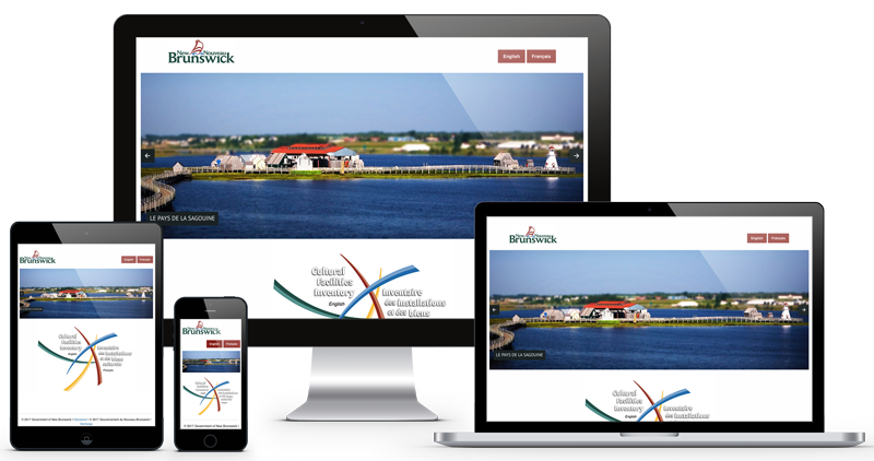 Photo of GNB Cultural Facilities Inventory website by The Pridham Group
