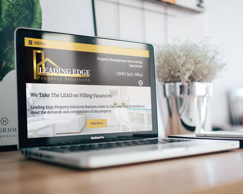Leading Edge Website by The Pridham Group