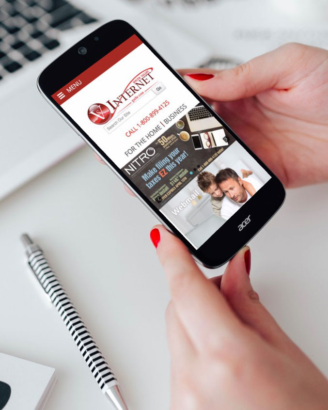 Photo fo Southe Valey Internet website by The Pridham Group