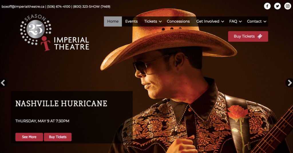 New Website Launched For The Imperial Theatre
