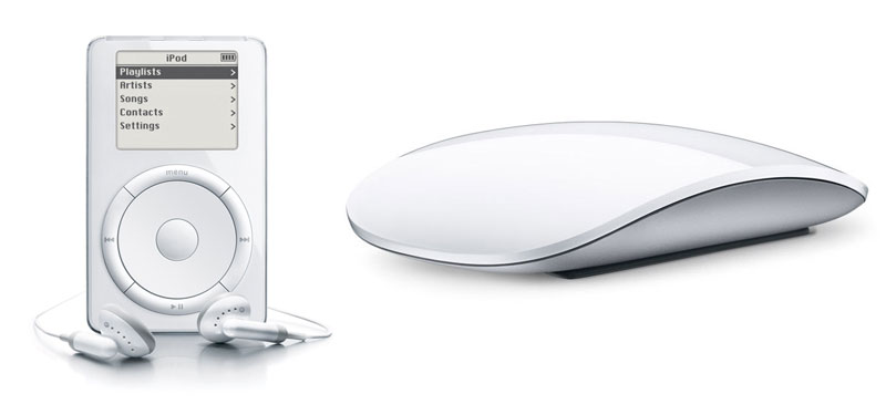 Apple iPod and Magic Mouse