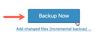 Backup Now