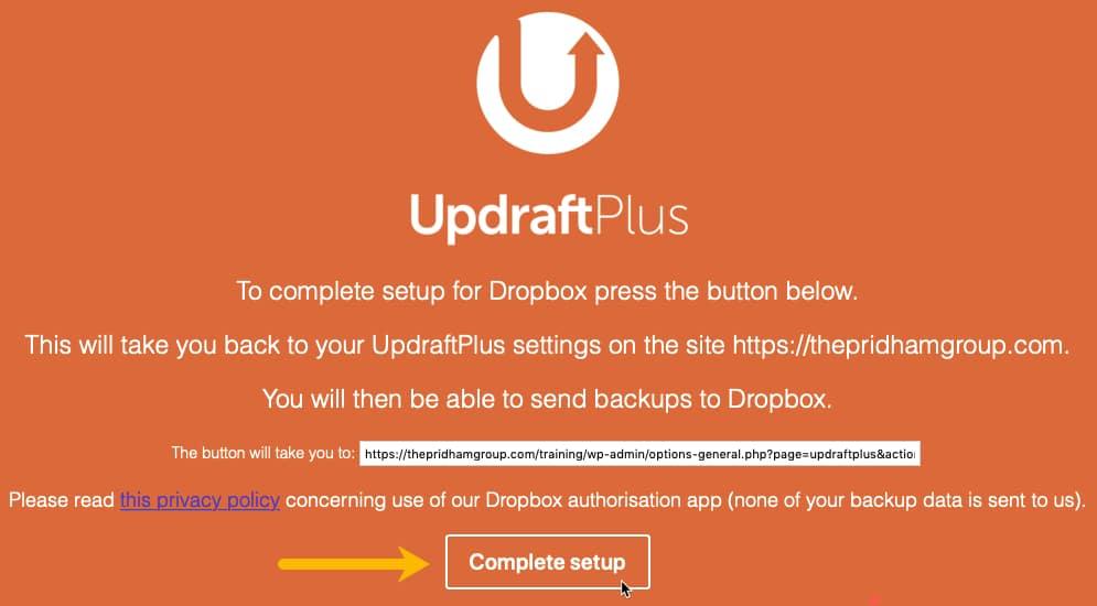 Complete Dropbox