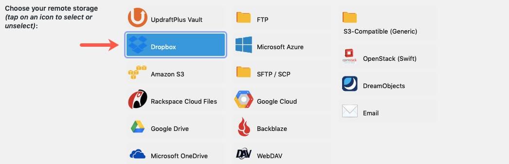 DropBox Icon Highlighted