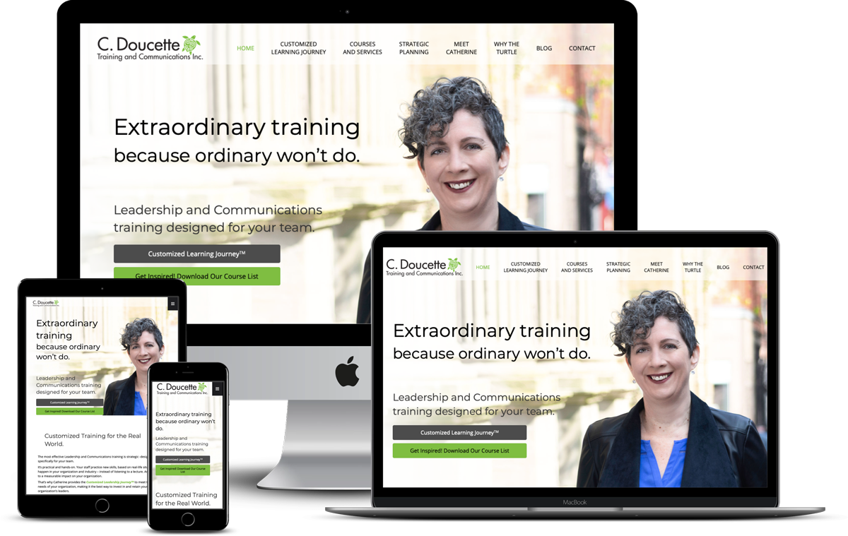 C. Doucette Training and Communications Corporate Website