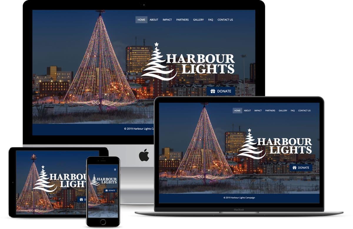 Harbour Lights Campaign Website Sample