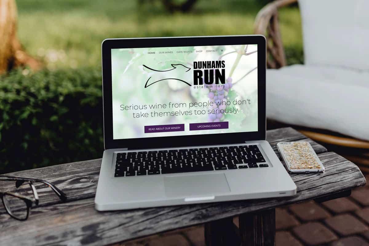 Dunhams Run Website Design