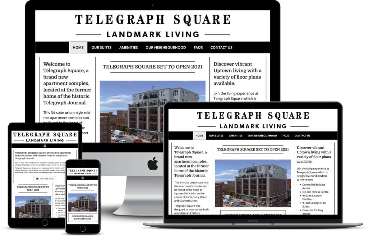 Irongate Developments Website Design