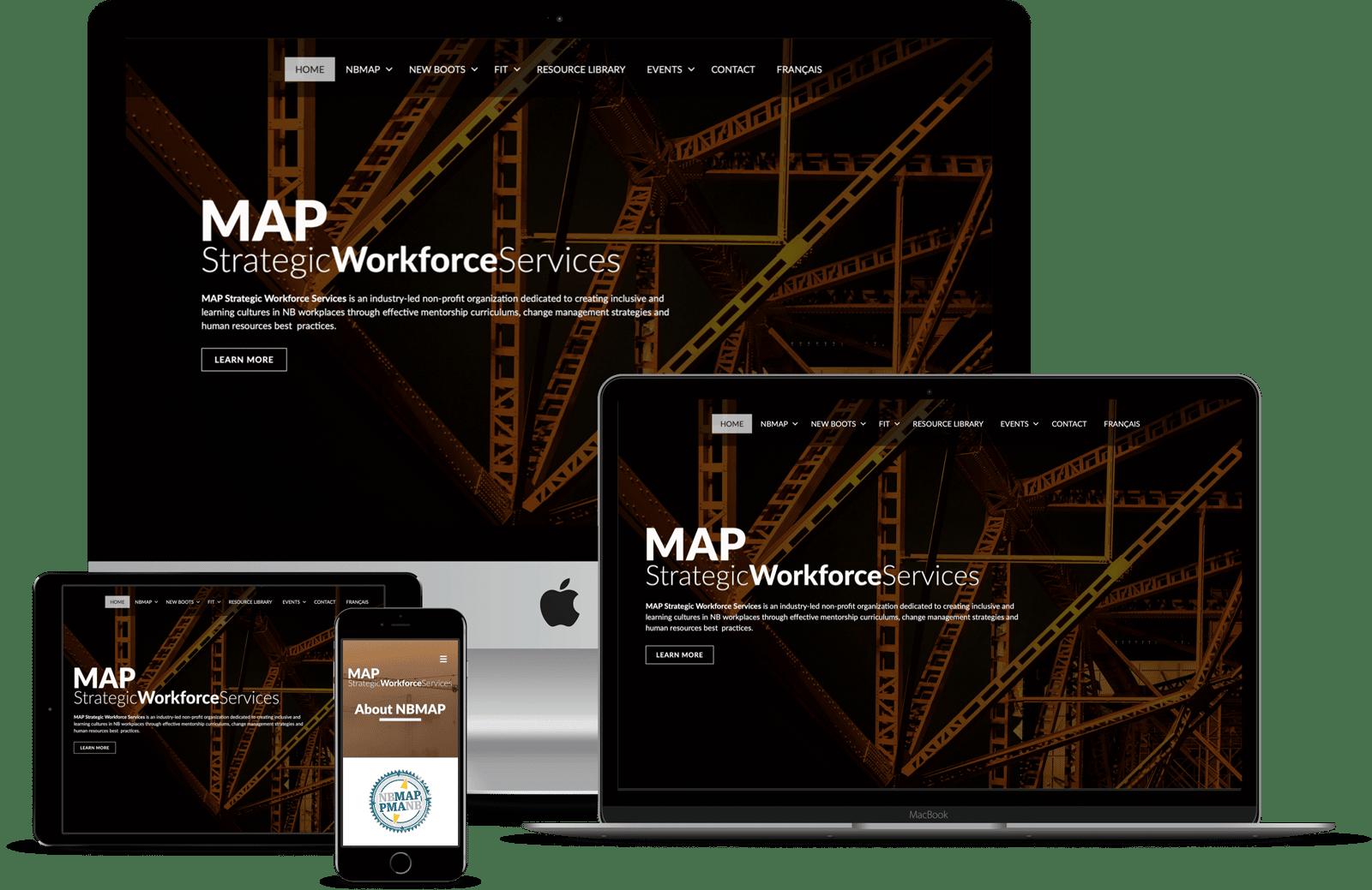 The Pridham Group Website Design of MAPSWS